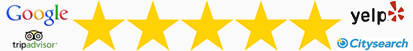 5 Star Reviews - Katy Garage Door Repairs